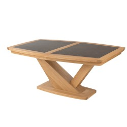 Table contemporaine tonneau