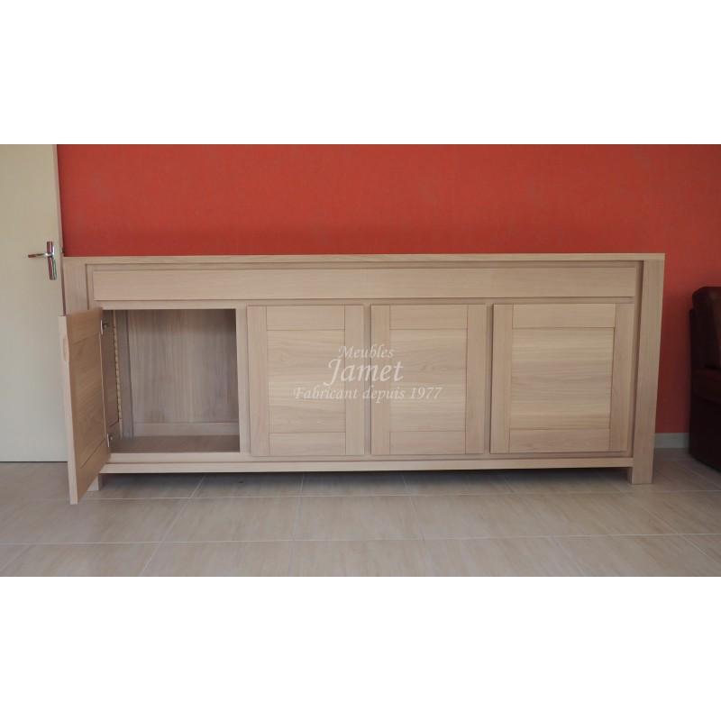 enfilade contemporaine beige fin meubles jamet. Black Bedroom Furniture Sets. Home Design Ideas