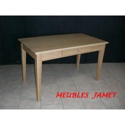 Table bureau en chêne Réf. BS 651