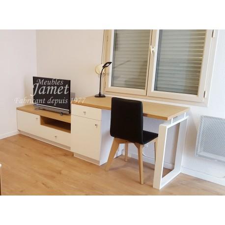 Ensemble bureau meuble télé Réf. BS 655