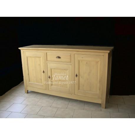 enfilade contemporaine en bois beige meubles jamet. Black Bedroom Furniture Sets. Home Design Ideas
