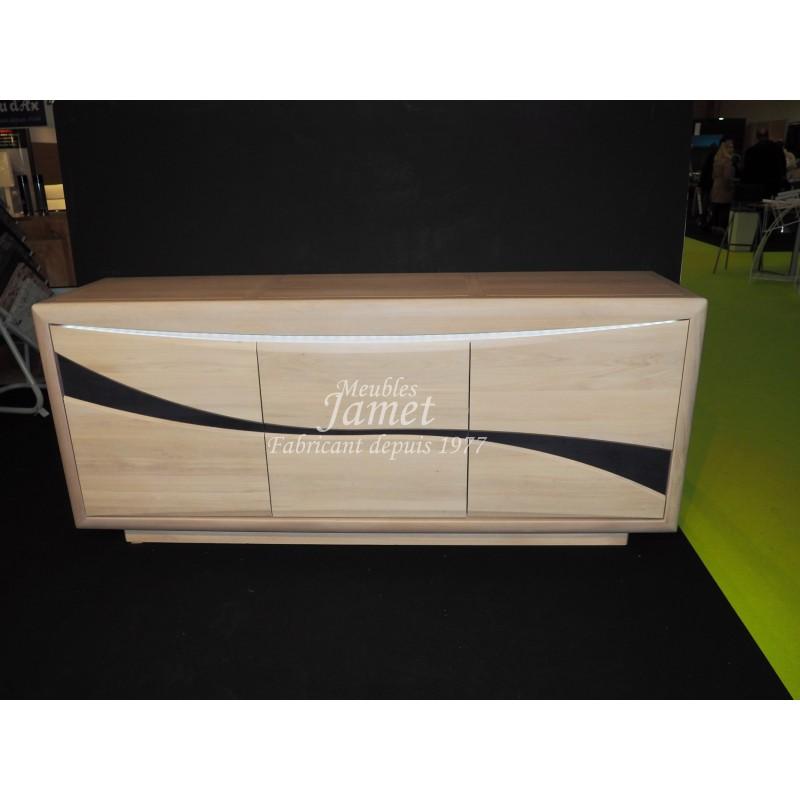 Enfilade contemporaine design en bois meubles jamet - Meuble enfilade design ...