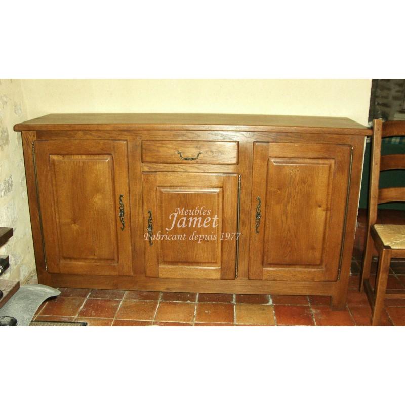 Meuble enfilade campagnarde classique meubles jamet for Enfilade meuble