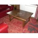 Table basse de salon en bois classique
